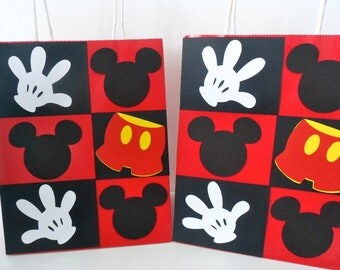 MICKEY MOUSE inspired goodie bag