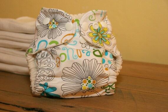 Newborn Organic Cotton Eco Baby Cloth Diaper Cover