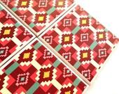 Single Tribal Ceramic Tile Coasters Southwest Drink