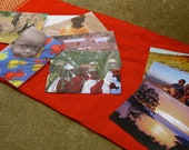 SPECIAL ORDER for ANGIE--2 Sets of African Notecards in Muslin Pineapple Stamped Bags
