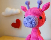 Priscila, the Pink Giraffe