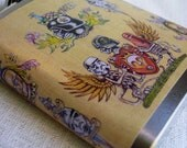 Star Wars Flask - Vintage Tattoo Style flash page- FREE SHIPPING