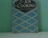 Vintage The Joy of Cooking  - 1943 (Wartime) Edition - by Irma S. Rombauer