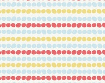 Pebble Stripe  from Birch Fabric's Storyboek Two Collection. 100% Organic Cotton - 1/2 Yard Cut