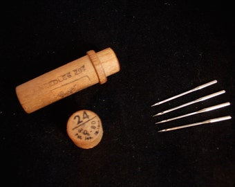 Antique Boye sewing machine needles size 24