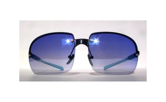 Blue 80s Aviator Sunglasses -Burning Man EtsyBRC