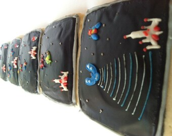 Space Invasion / Space War / Video Game Sugar Cookies with Buttercream Frosting