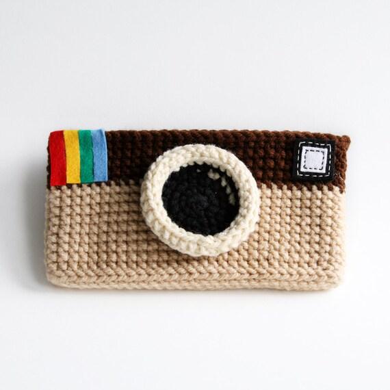 Instagram Sunglasses Case (Light Brown Color)