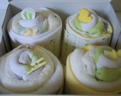 FREE SHIPPING, Neutral Baby Set.  Ducky themed 12-piece gift set.