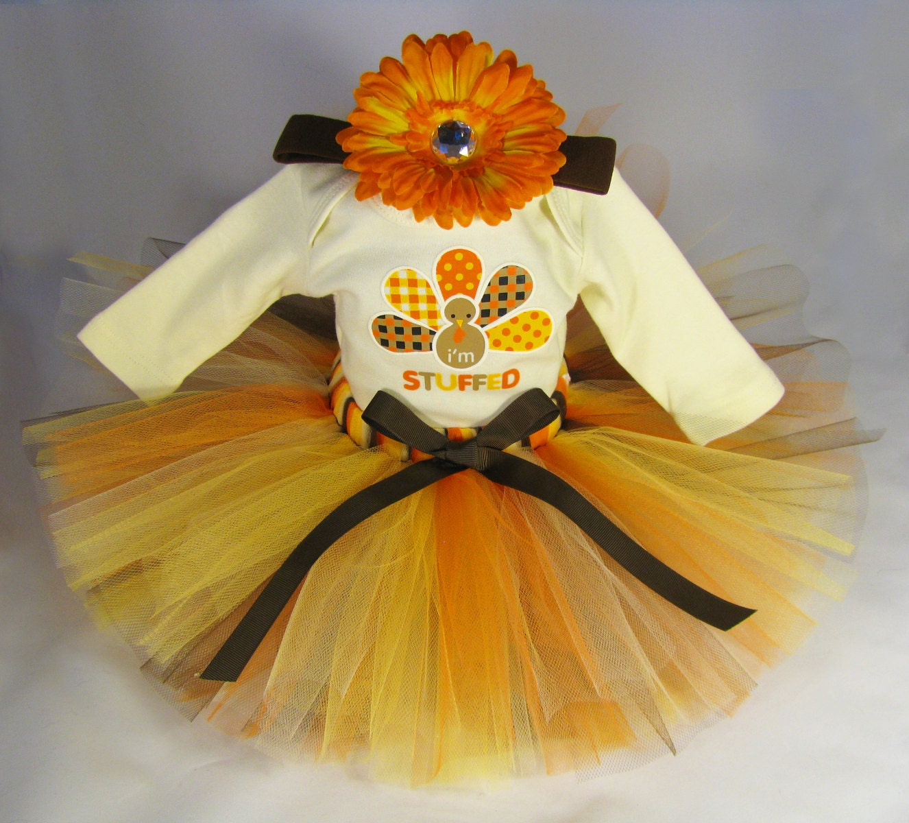 Babys First Thanksgiving Outfit Eleventhhourdesigns
