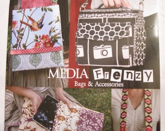 Media Frenzy Bags and Accessories by Serendipity Studio