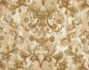 Bella Verona Collection by Wing and a Prayer for Timeless Treasures c8586 Amber 1 yard