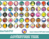 "Adventure Time - Pick Your Own Button 3-Pack of 7/8"" mini buttons"