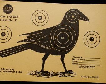 Vintage Crow Target no. 7 by Sears