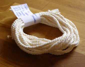 Your choice of color in a handmade 16 foot rope, or drawstring for baby clothes or soft toys  ABL-140