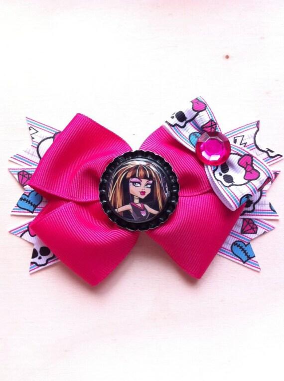 Deluxe Monster High's Cleo De Nile Hair Bow