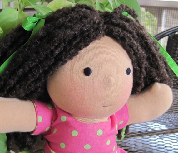 Waldorf Doll with Waldorf Doll Clothes on Etsy MADDIE