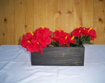 Decorative Wood Box, Wood Box Center Piece, Decorative Table Centerpiece,Party Table Center Piece, Decorative Wood Boxes,