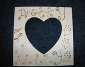 Pretty Kitty picture frame