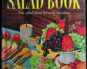 Salad Book Cookbook by Better Homes and Gardens RETRO Cook Book Vintage 1950s 1960s