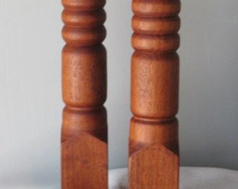Candle holder - Candlestick - Wood Candlestick - Turned candlestick