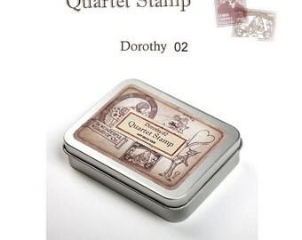 The Wonderful Wizard of Oz Quartet Stamps Set Ver 2