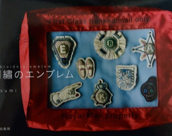 Embroidery Emblem by Atsumi- Japanese craft book (In Chinese)