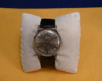 "USSR ""ZIM"" wrist watch 1960-70  unusual ornate dial rare 16 jewels"
