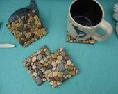 Beach Pebble Coasters