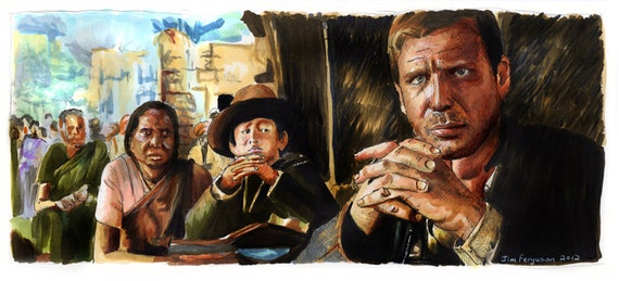 Indiana Jones and the Temple of Doom - Fortune and Glory Poster Print
