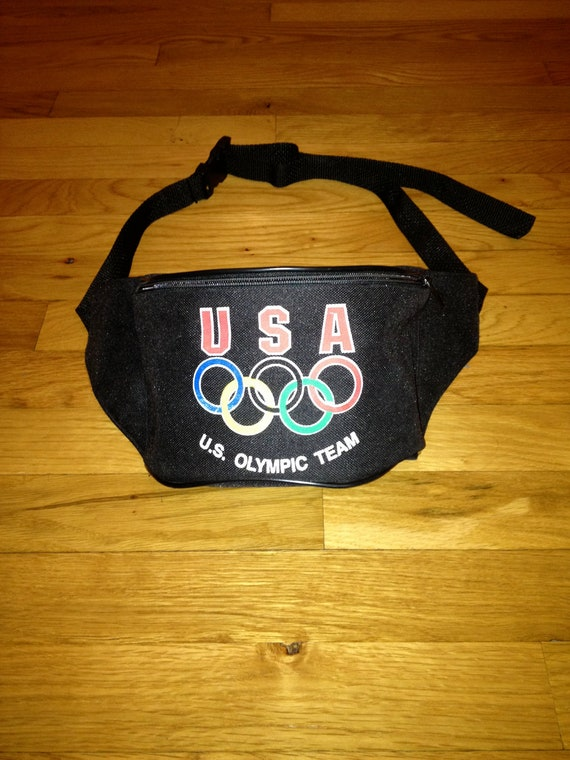 vintage olympic fanny pack