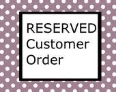 Custom Order: Busyblue