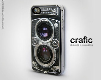 Vintage Camera Silver Lens IPHONE CASE | iPhone 6/6S | iPhone 6/6S Plus | iPhone 5/5S | iPhone 5C | iPhone 4/4S | Retro, Rolleiflex