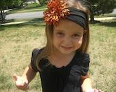 Halloween inspired Jersey knit headband