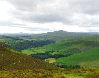 Valley in Wicklow, Ireland