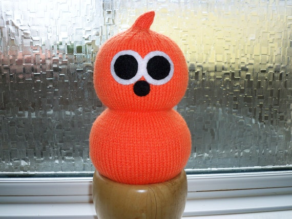 EDF Energy Mascot Knitted Zingy T.V Advert Character