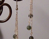 Dangle Earrings Moss Agate Gifts Accessories