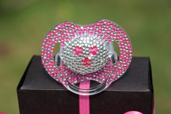 how to make a bling pacifier