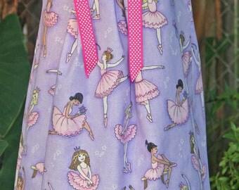 Boutique Pillowcase dress featuring Ballerinas :CH043