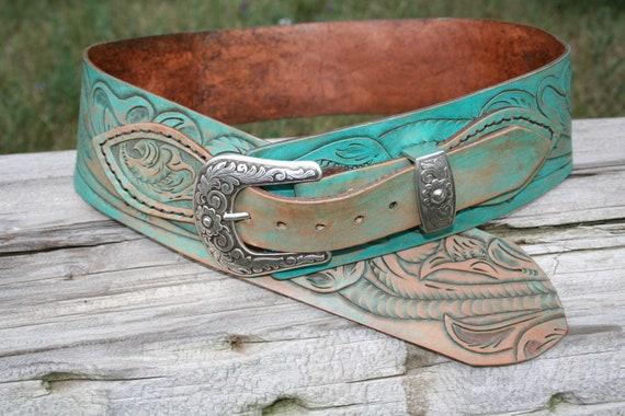 Old West Turquoise Belt