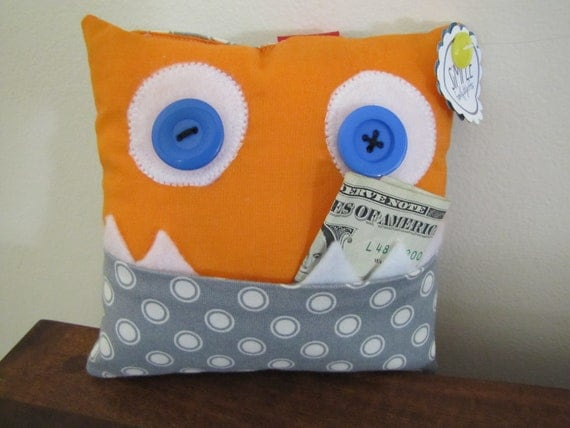 Freckles, Monster Tooth Fairy Pillow