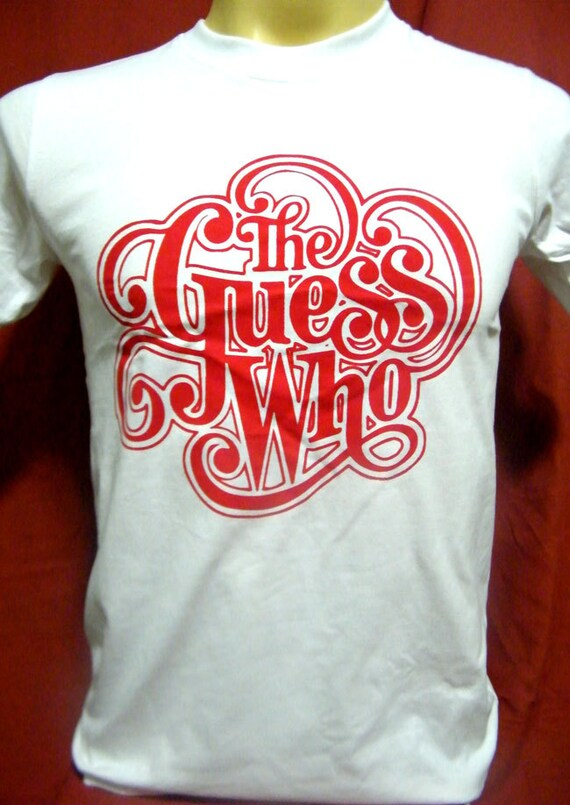 The guess who canadian rock band men women white by song2mona for Banded bottom shirts canada