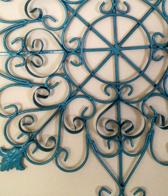 Scroll Design Wall Decor : Metal wall art wrought iron scroll design