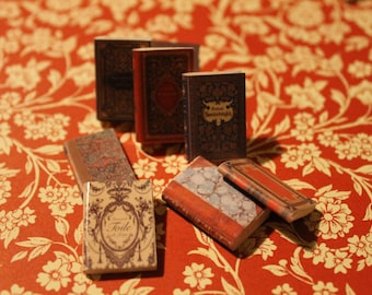 Dollhouse Miniature set of classic books ... set n. 4