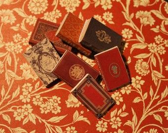 Dollhouse Miniature set of classic books set n. 2