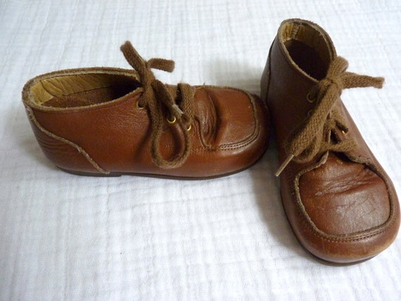 vintage leather shoes toddler size 8 2t to 3t buster brown