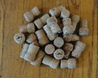 50 recycled champagne corks