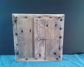 Primitive Pallet Wood Clock FREE US SHIPPING