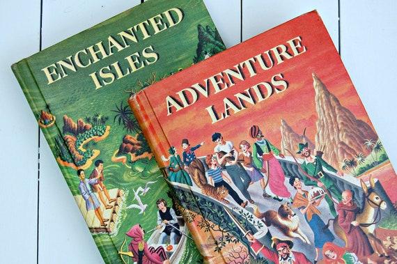 Pair of Vintage Treasury of Literature Childrens Books
