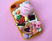 iPhone 4/4s sweets N treats bread case